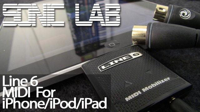 Line 6 MIDI Mobilizer II CoreMIDI Compatible