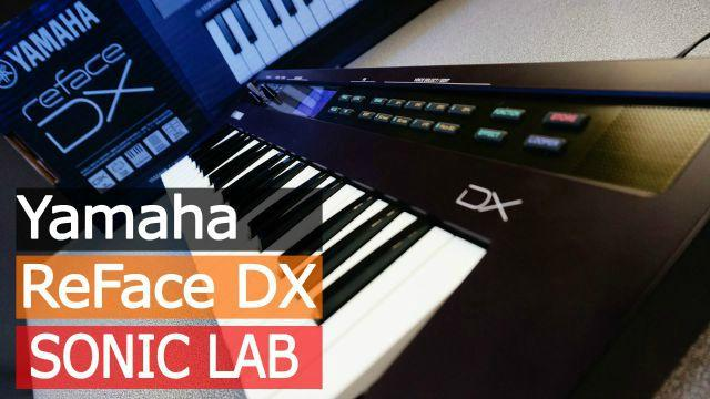 Sonic lab yamaha reface dx review for Yamaha dx reface review