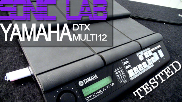 Sonic lab review yamaha dtx multi 12 for Yamaha dtx review