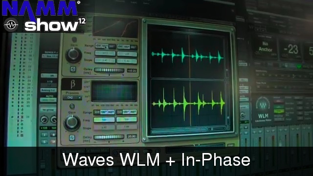 Studio Phase Meter : Wnamm waves in phase and wlm