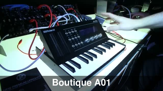 namm 2016 roland a01 boutique controller and synth. Black Bedroom Furniture Sets. Home Design Ideas